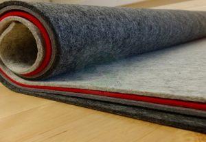 Miếng lót sàn nhà cho phòng khách sang trọng và trẻ trung