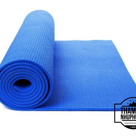 Thảm xốp tập Yoga ( màu xanh dương )
